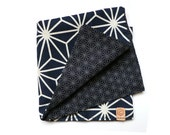 Reversible Japanese Cloth Pocket Square / Handkerchief