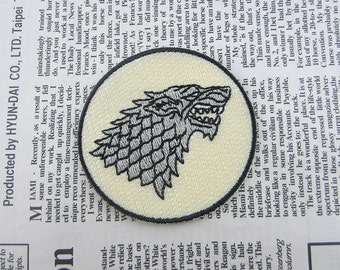 Wolf Iron on Patch Embroidery Beast Appliques