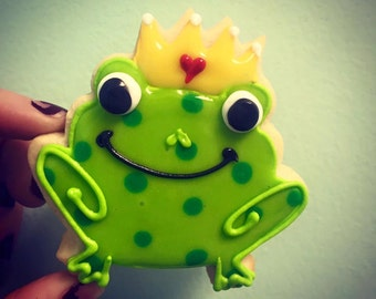 Frog Prince Cookies
