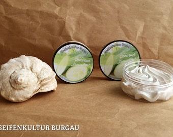 Deocreme mit Kokosöl kbA + Kirschkernöl - ohne Aluminiumsalze