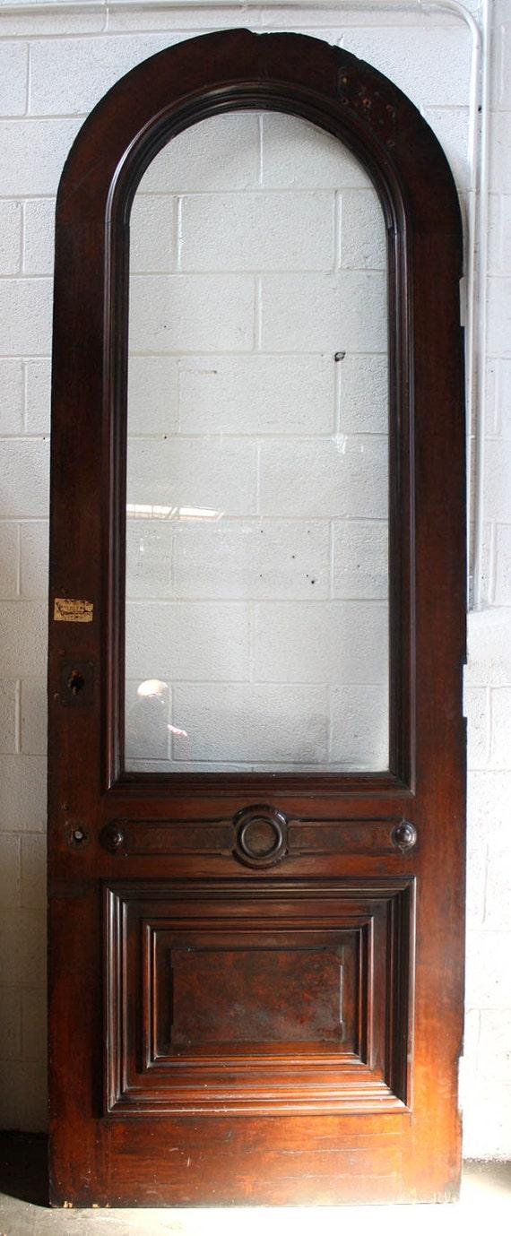 Incredible 39X112 Antique Arched Arch Exterior Entry Wood Door Door Handles Collection Dhjemzonderlifede