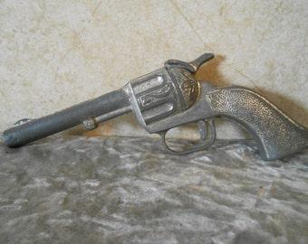 1950's  Working Metal Toy Cap Gun