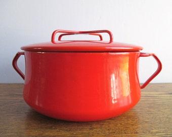 Vintage Dansk Red Kobenstyle Pot