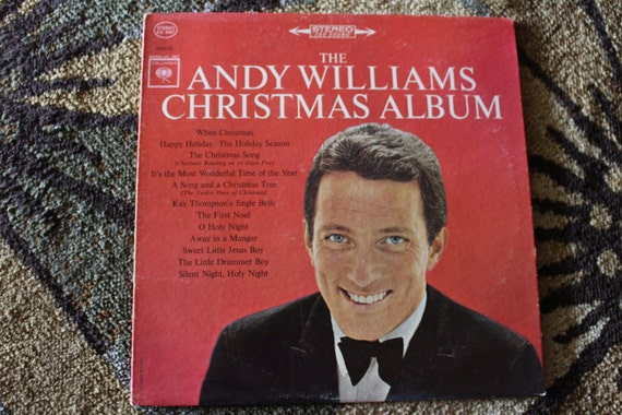 David Jones Personal Collection Record Album - The Andy Williams Christmas Album