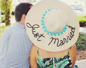 THE ORIGINAL Just Married Honeymoon Hat™