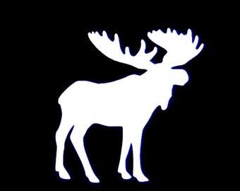 Moose Vinyl Decal