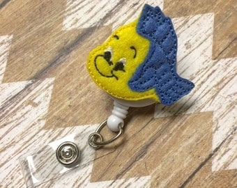 Flounder Badge Reel