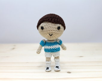Amigurumi Soccer Football Player - MADE TO ORDER