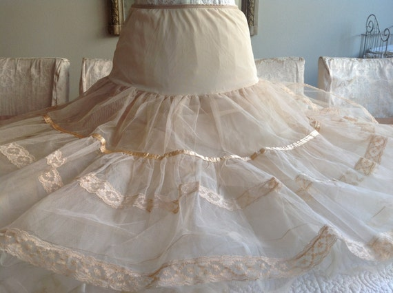 how to make a tulle slip