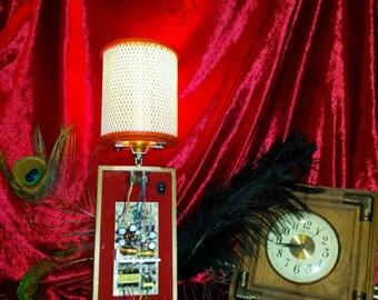 SALE !!!! 10 BUCKS OFF Original Price Steam Punk Table Lamp