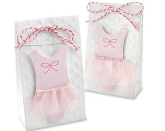 24 Tutu Cute Favor Bags Pink Ballerina-themed Baby Shower Favors Favor Bags