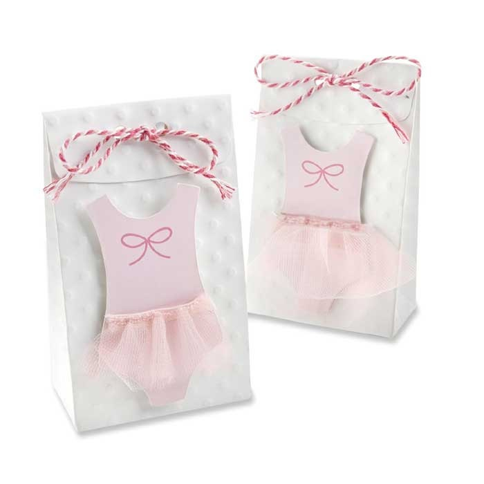 24 tutu cute favor bags pink ballerina themed baby shower