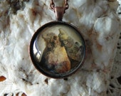 Hunting Jewelry, Bear Necklace, Grizzly Bears, Photo Pendant, Bear Art, Picture Pendant Jewelry, Nature, Wildlife, Outdoors, Rustic Jewelry