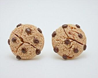 cookie earring studs