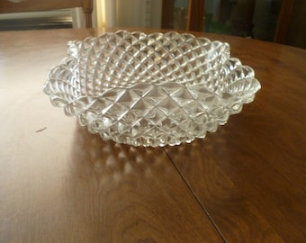 Large Glass Serving Bowl