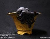 Bonsai Octpous Pot  No 27,  sculpture 09/2016