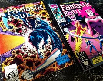 Marvel Comics Fantastic Four Comic Books Vol. 351 & Vol. 352
