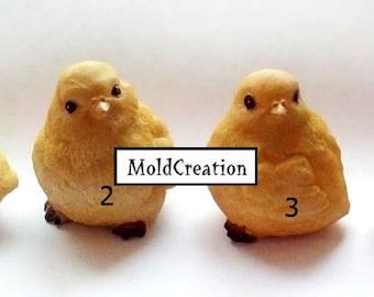 Silicone soap mold Chick (1-4)