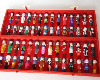 56 Nationalities of the Chinese Nation Figurines
