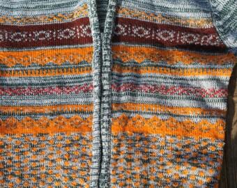 Empire Kid's Zip Up Vintage Sweater