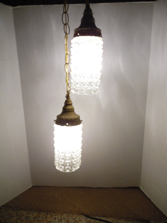 mid century 2 tier crystal hanging lamp pendant lamp chandelier. Black Bedroom Furniture Sets. Home Design Ideas