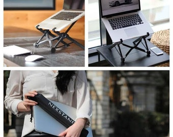 Nexstand Portable Height Adjustable Folding Laptop Notebook macbook Stand mount