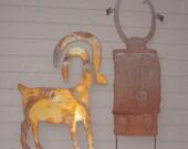 1 bighorn sheep and 3 shamans