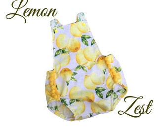 Lemon Zest Romper