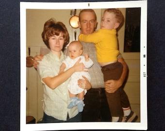 Vintage Photo Snapshot Vernacular Vintage Kodak Photo Family Color Photo Birthday Cards