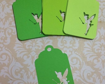 Tinkerbell Gift Cards/Tags/Labels.   #NJ-8