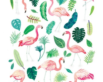Flamingo Fête Print