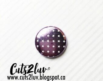 "Badge 1 ""metal star shadow purple"