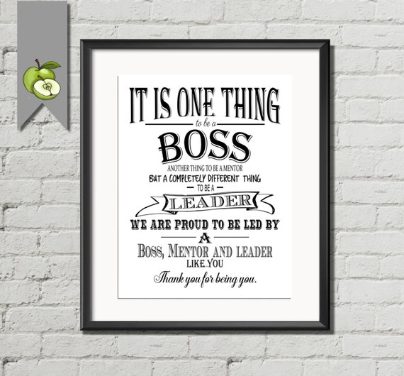 Thanking Quotes For Boss: Boss Appreciation Day Boss Week Boss Card Boss By