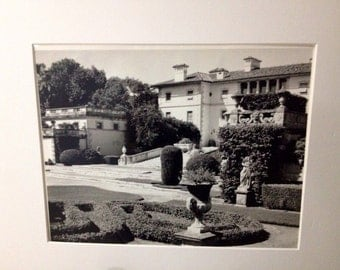 Original black and white photograph called Viscay signed by photographer Lanita Renee