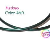 "NEW! 5/8"" Medusa Color Shifting Polypro Hula Hoop shift morph"