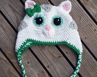 Katerina Kitty Cat inspired crochet hat