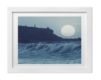 Ocean Art, Beach Photography, Landscape Photography, Costa Rica Beach Print, Blue Ocean Print, Costa Rica Art, Large Wall Art, Custom Sizes