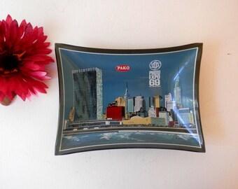New York Art, New York Skyline, Chrysler Building, Photo Expo 69, Pako, Collectible Plate, Photographer Gift