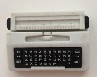 Typewriter butane lighter