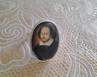 William Shakespeare Ring - Handmade, Unique