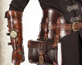 Alchemist- medieval alchemist belt for LARP, action roleplaying and cosplay