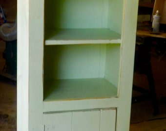Knotty Pine Jelly Cabinet
