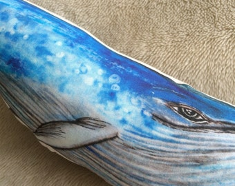 Blue Whale Soft Pillow