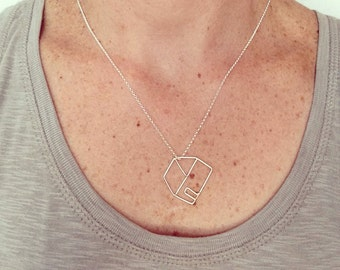 House necklace ,house pendant