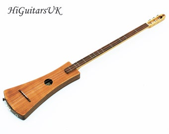 UK Handmade D-Stick Dulcimer with Pickup by HiGuitarsUK, Classic D-Stick.