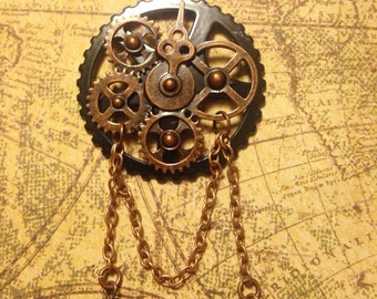 Midnight Oil 2.0 Steampunk Necklace