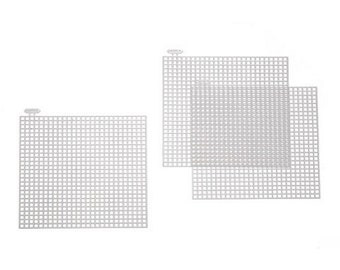 Square-Shaped Plastic Canvas - 4in. X 4in. - 10 Pieces/Pack (dar33019)
