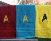 Star Trek Federation Uniform Hand Towel