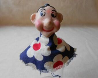 Vintage Finger Puppet