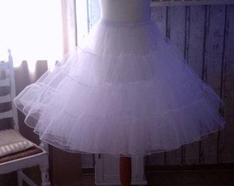 Petticoat, tulle petticoat in 3 colors